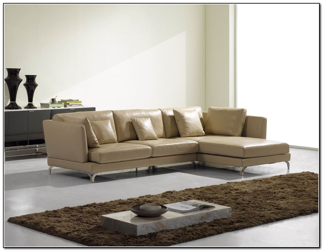 Contemporary Leather Sofa Sectional