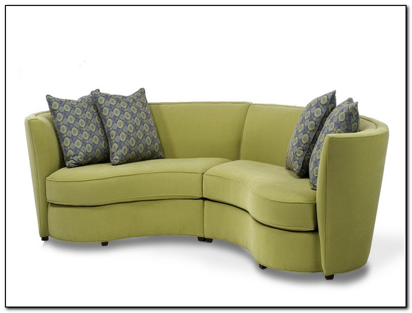 Curved Sofas For Small Spaces Sofa Home Design Ideas