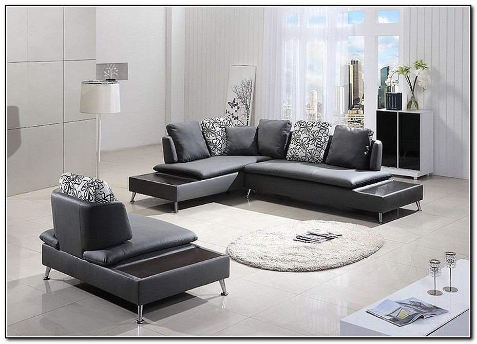 Grey leather sofa living room sofa home design ideas llq0eerpkd15181 for Living room ideas with white leather couches