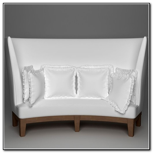 High Back Sofa 3d Model