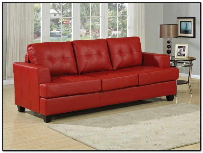 Ikea Leather Sofa Bed