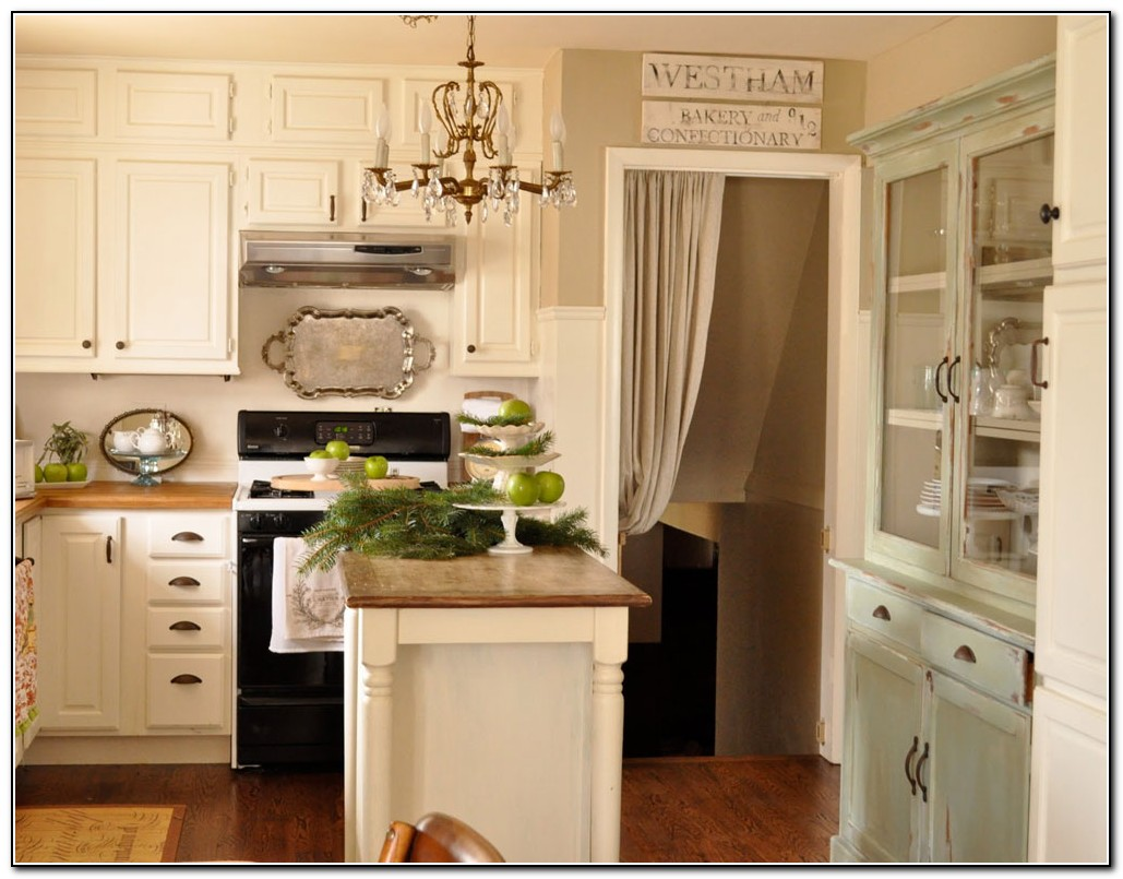 Kitchen paint colors with cream cabinets kitchen home Kitchen cabinets colors 2014