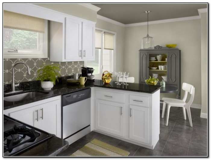 Kitchen Paint Colors With Wood Cabinets
