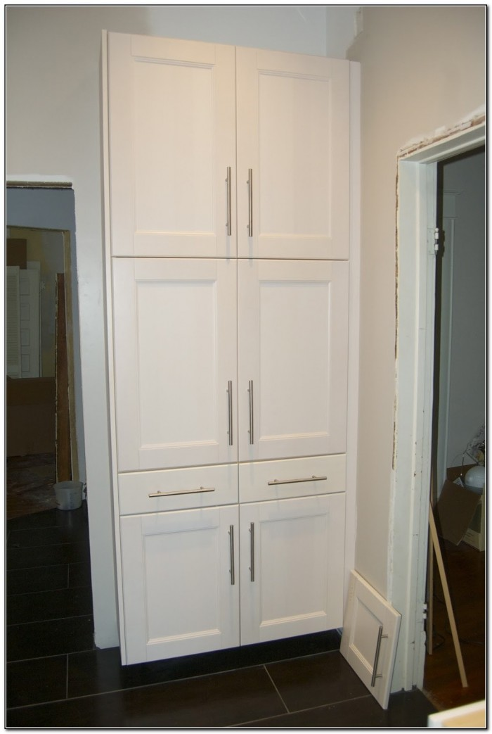 Kitchen Pantry Cabinet With Pull Out Shelves