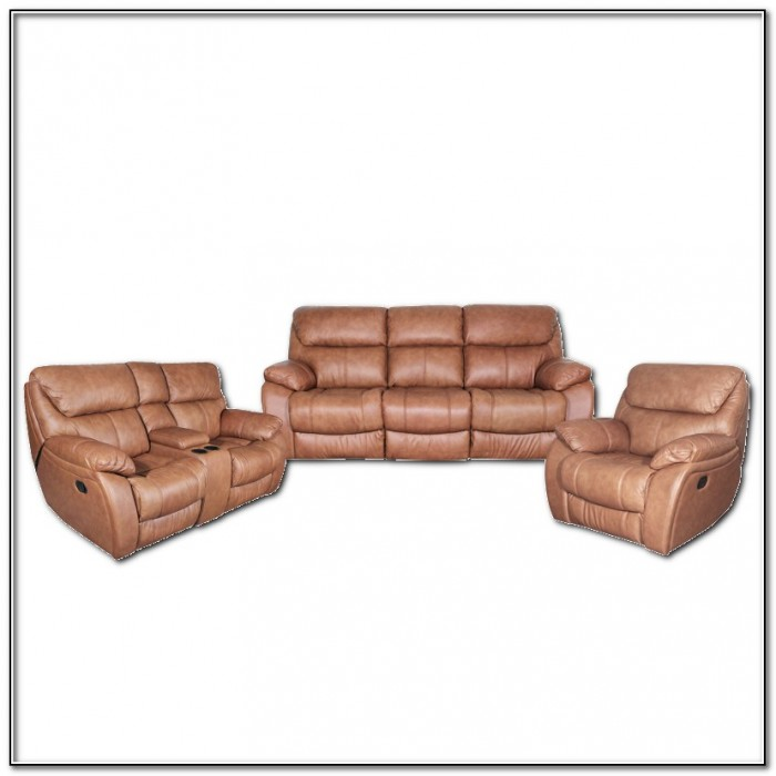 Leather Recliner Sofa 2 Seater