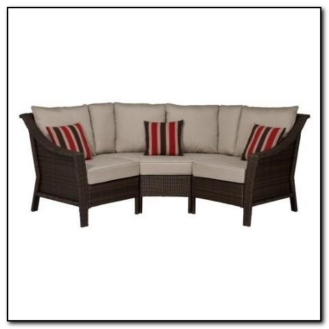 Outdoor curved sectional sofa sofa home design ideas for Outdoor sectional sofa target