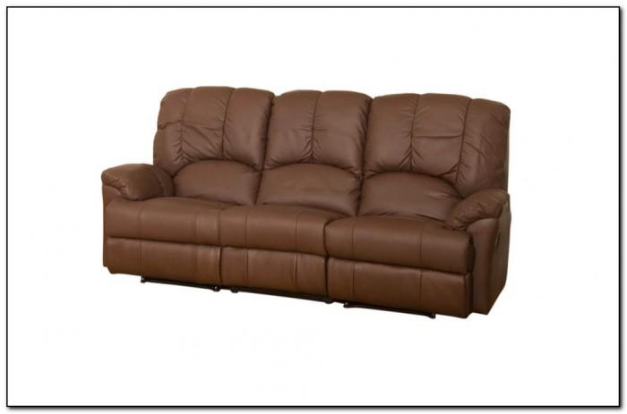 Top Grain Leather Sofa Recliner