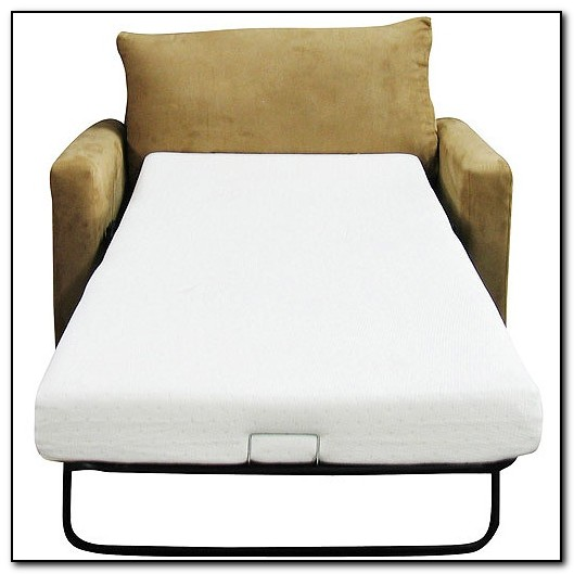 Best sleeper sofa memory foam sofa home design ideas for Sofa bed mattress pad walmart