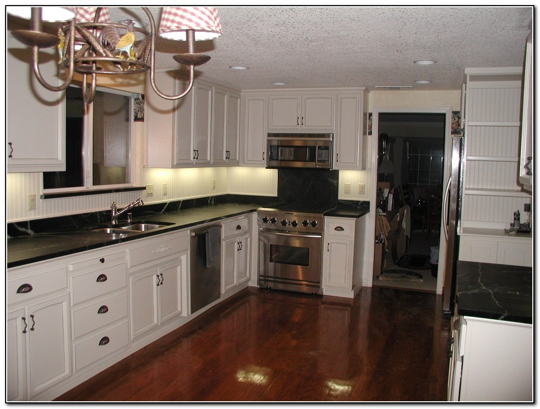 Kitchen Cabinet Colors With White Countertops