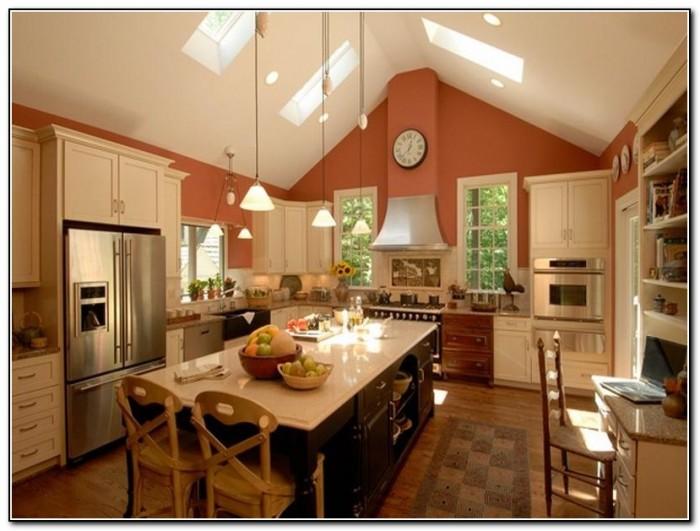 Kitchen Lighting Ideas Sloped Ceiling
