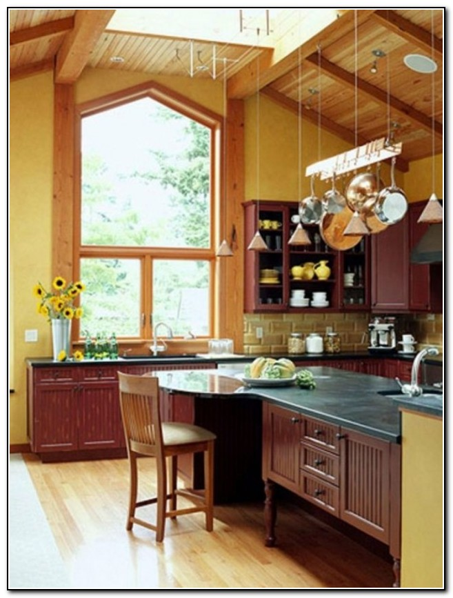 Kitchen Lighting Ideas Vaulted Ceiling