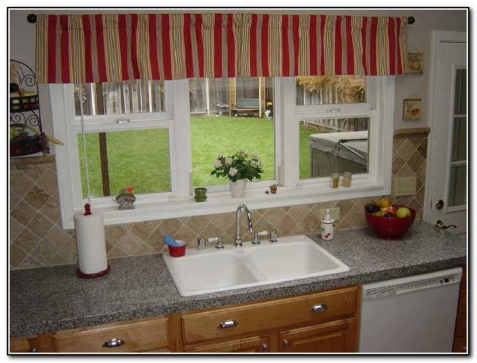 Kitchen Window Curtains And Valances