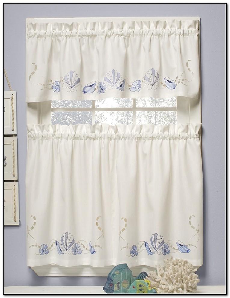 Kitchen Window Curtains Designs