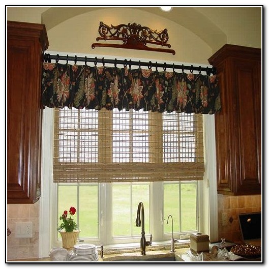 Kitchen Window Curtains Pinterest