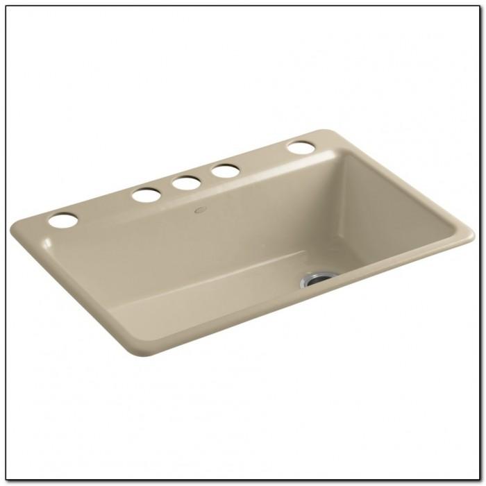 Kohler Kitchen Sinks Cast Iron Undermount