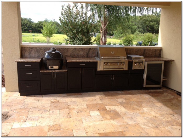 Outdoor kitchen cabinets polymer kitchen home design for Modern kitchen cabinets nj