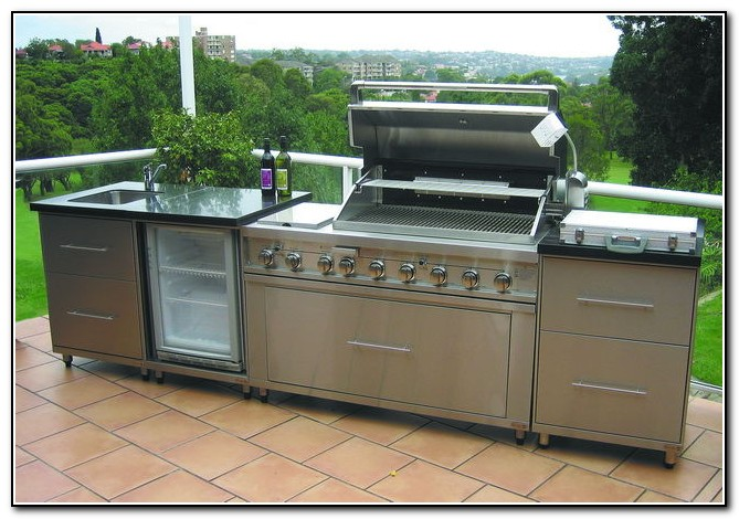 Outdoor kitchen kits costco kitchen home design ideas for Outdoor kitchen australia