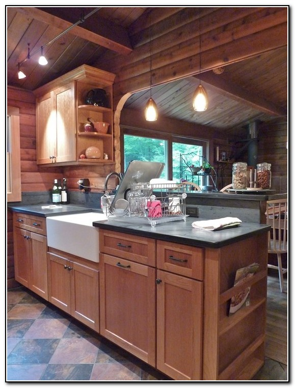 Ready to assemble rustic kitchen cabinets kitchen home for Ready assembled kitchen units