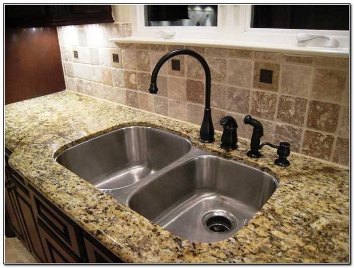 Undermount Kitchen Sinks Granite Countertop