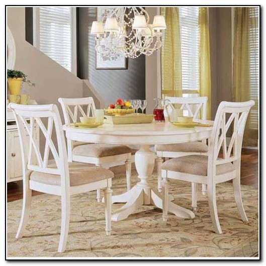 White Kitchen Table And Chairs Set