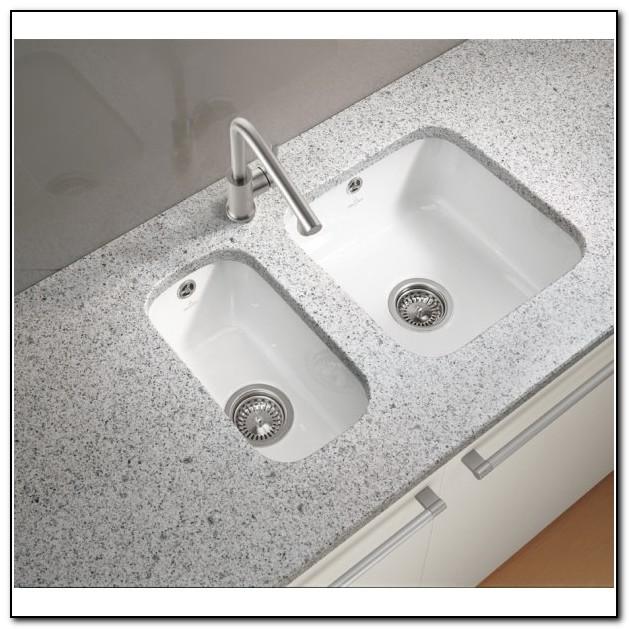 White Undermount Kitchen Sinks