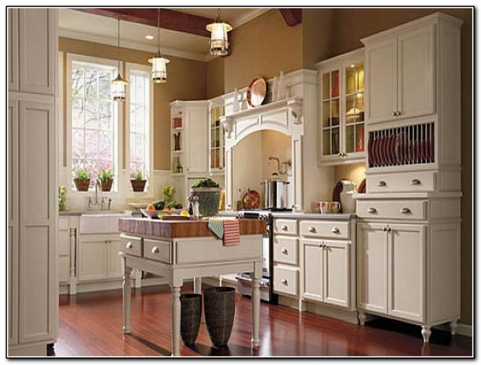 Thomasville kitchen cabinets toasted almond kitchen for Almond colored kitchen cabinets