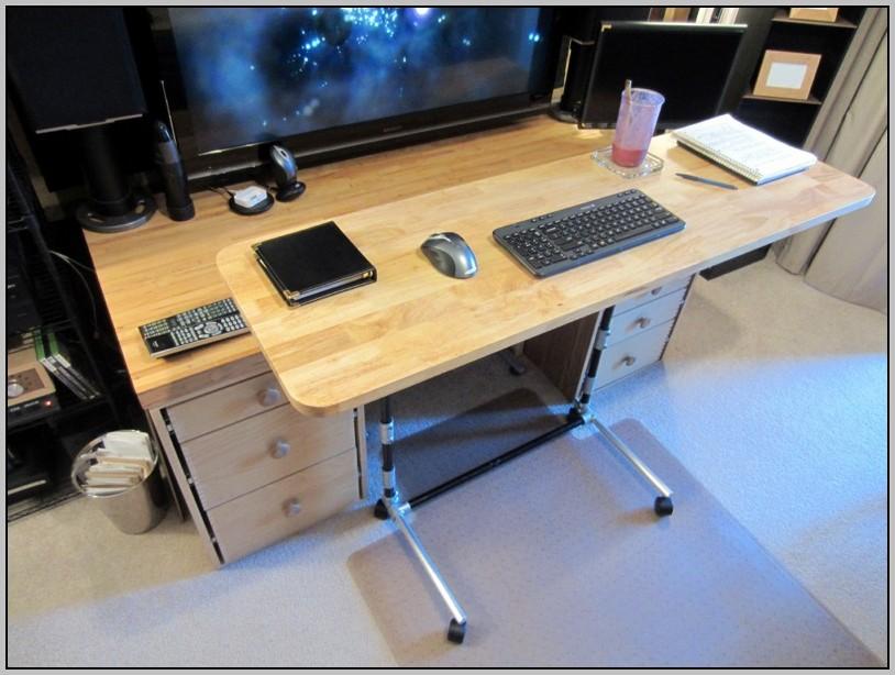 adjustable height desk amazon desk home design ideas 4vn4xagnne17539. Black Bedroom Furniture Sets. Home Design Ideas
