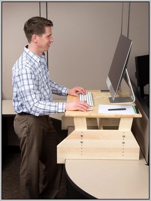 Adjustable Standing Desk Diy
