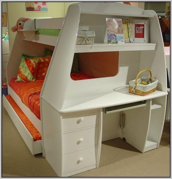 Desk Bunk Bed Combo From Barn Door Desk Home Design