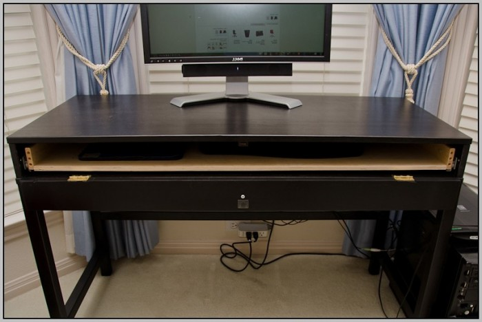Computer Desk Ikea Hack
