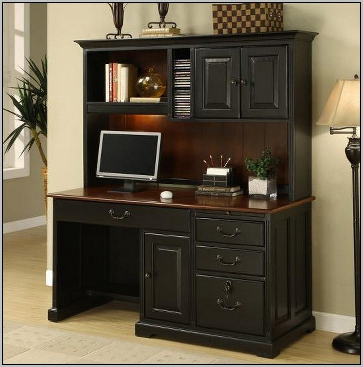 Computer Desk With Hutch Office Depot