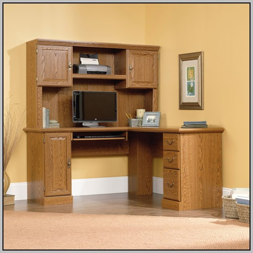 Computer Desk With Hutch Staples