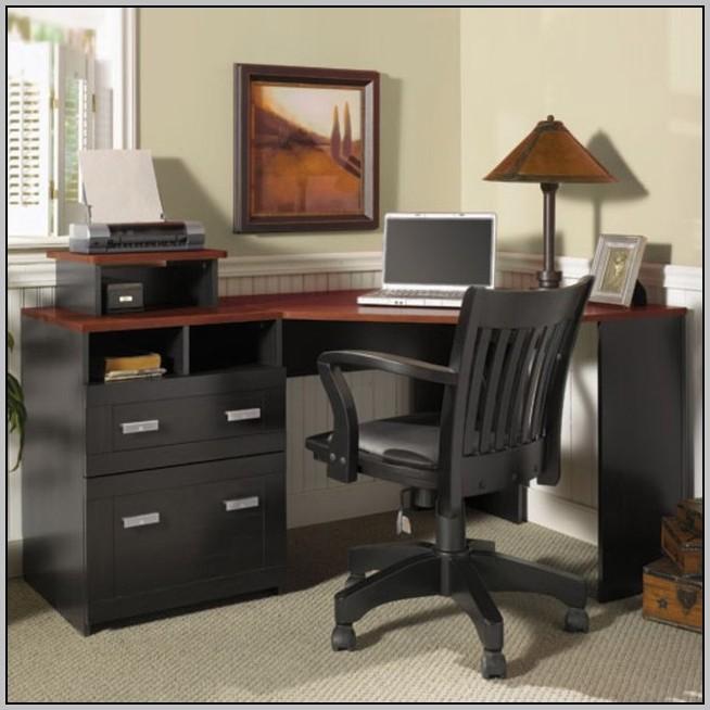 O Sullivan Corner Cockpit Computer Desk Desk Home
