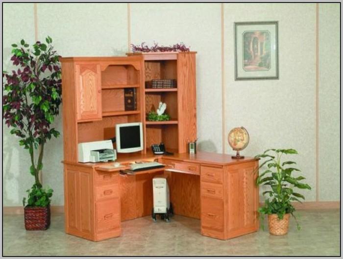 Corner Desk With Hutch Small