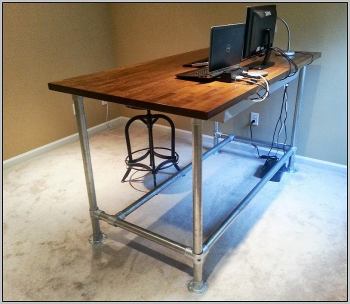 Diy Standing Desk Cubicle