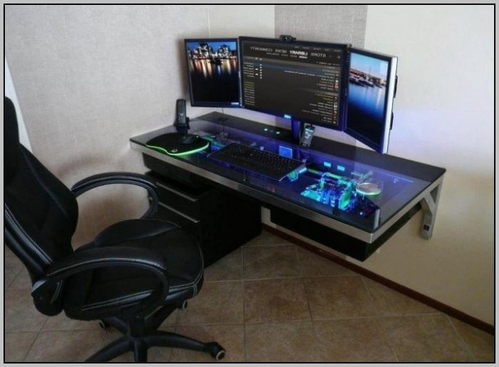 Computer Desk Ideas Diy Desk Home Design Ideas