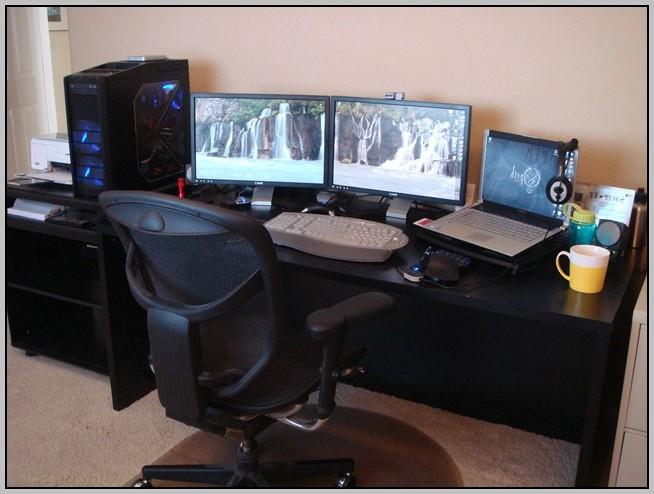 Gaming Computer Desk Setup