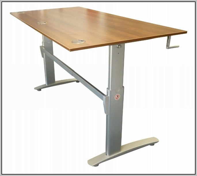 Height Adjustable Desk Frame