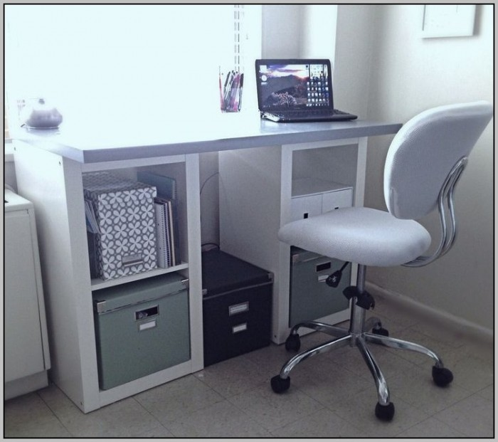 Ikea Office Desk Hack