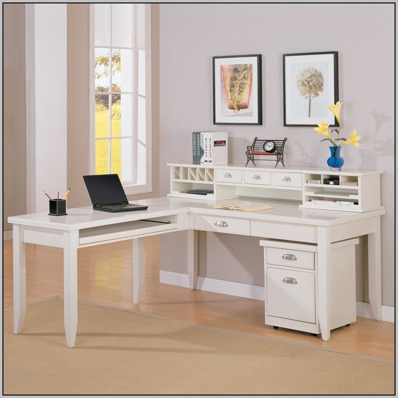 L shaped desk with hutch ikea desk home design ideas for Ikea high low desk