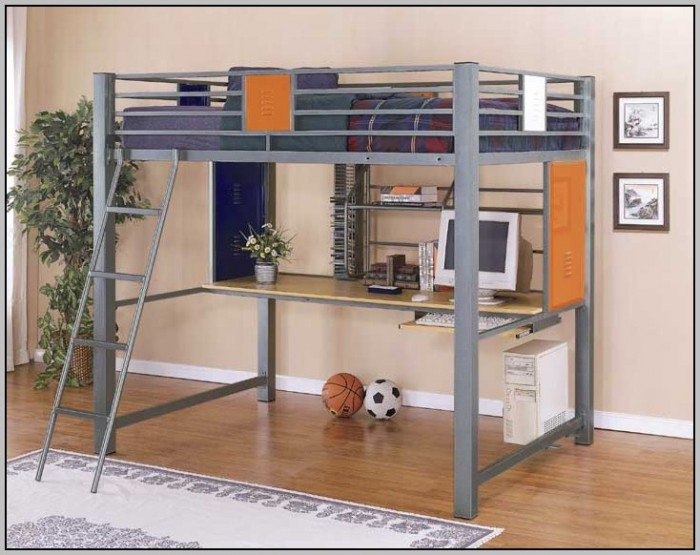 loft beds with desk and futon full size loft bed with desk and futon chair   desk   home design      rh   anguloconsulting