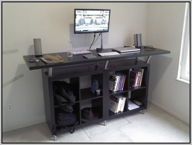 Standing Computer Desk Diy Desk Home Design Ideas
