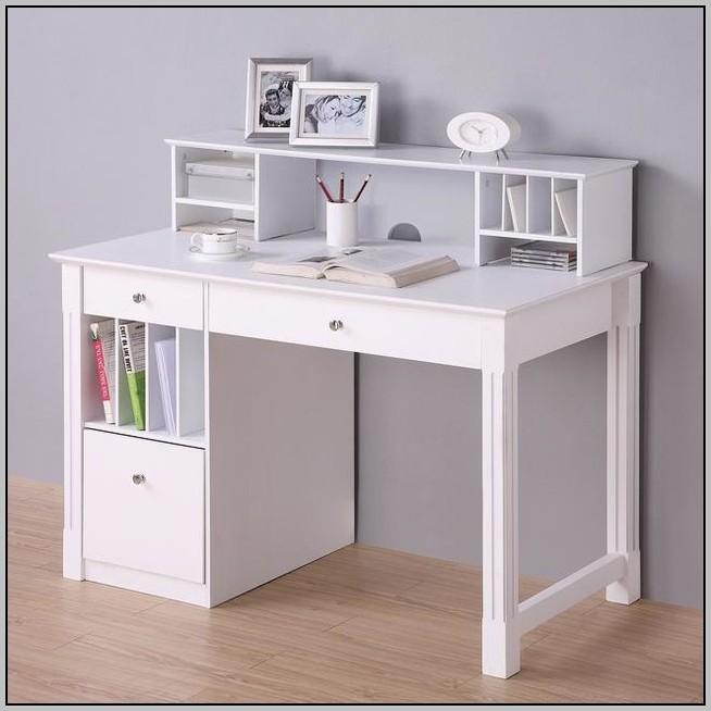 White Desk With Hutch Uk