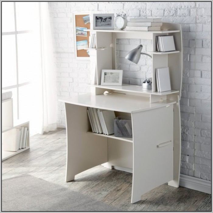 White Desk With Hutch Walmart