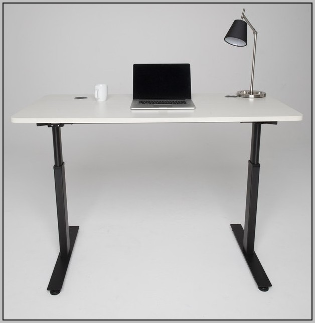 Adjustable Height Computer Desk Standing