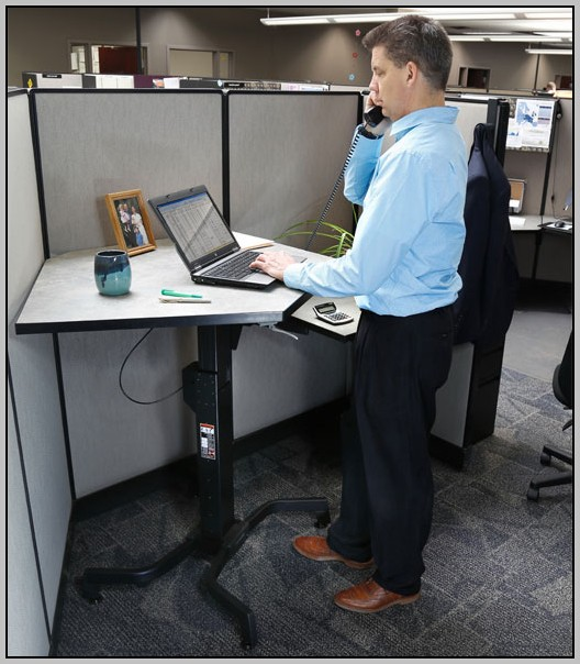 Adjustable Stand Up Desk Converter