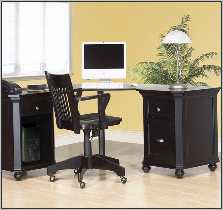 Black Corner Computer Desk Uk Download Page Home Design