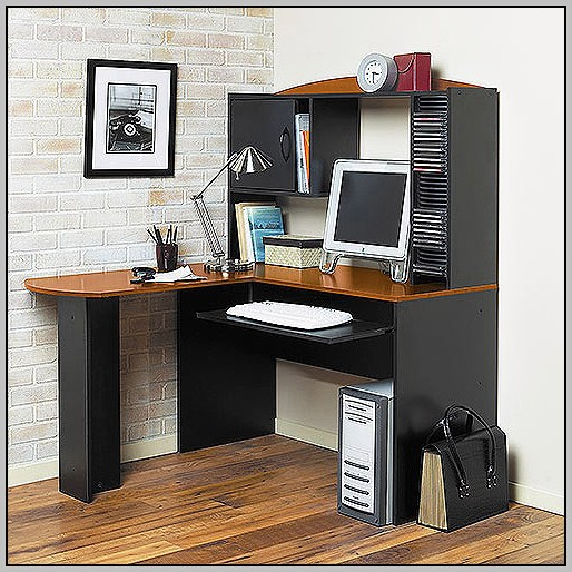 Black Desk With Hutch Walmart