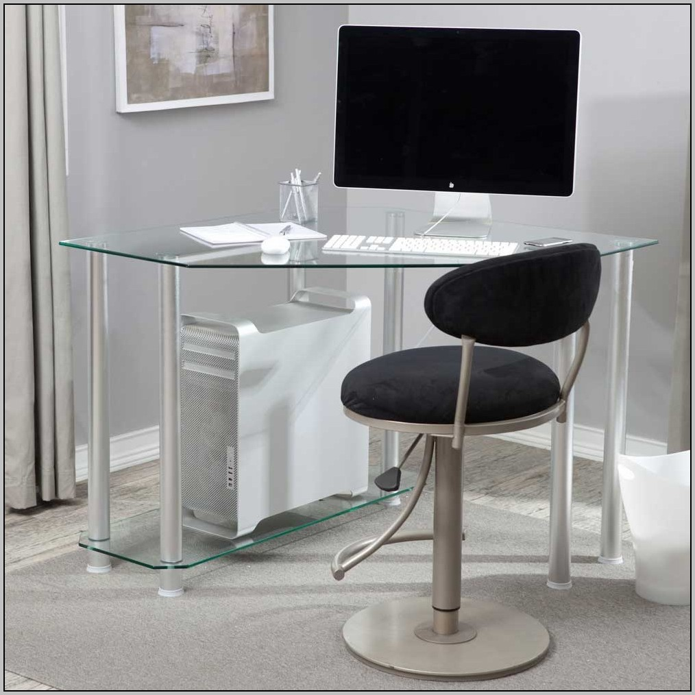 black glass computer desk ikea desk home design ideas xxpyzxynby22693. Black Bedroom Furniture Sets. Home Design Ideas