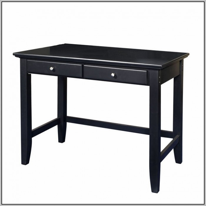 Black Student Desk With Drawers